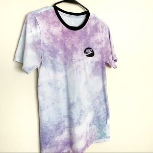 96f1f1aa9 Nike Shirts | Abalone Foamposite Space Dye Logo Tee | Poshmark